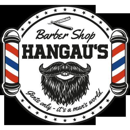 Hangau's Barbershop Logo 500x500px